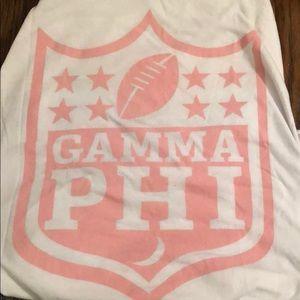 Gamma Phi Beta baseball tee